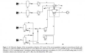 Schema impianto singlepot microparticelle